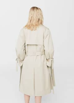 Decorative Bows Trench Mango