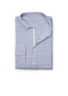CHEMISE SLIM RAYURES COTON