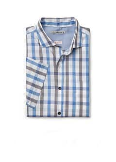 CAMISA QUADRADOS SLIM-FIT