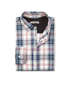 Slim-fit check shirt