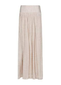 Fine knit long skirt