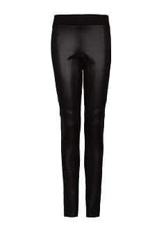 Leggings panel brillante