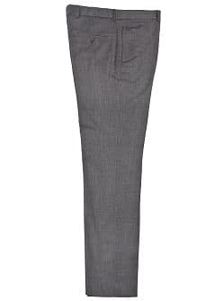 PURE WOOL-BLEND SUIT TROUSERS