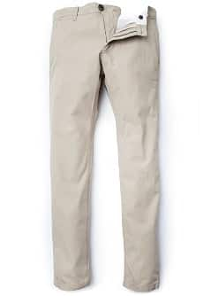 "Pantaloni stile ""chino"" slim-fit"