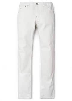 TIM SLIM-FIT WHITE JEANS