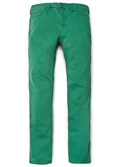 TIM SLIM-FIT GREEN JEANS