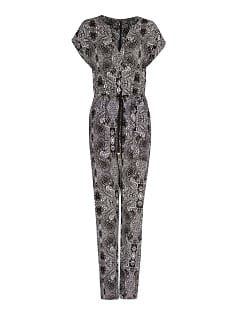Paisley print long jumpsuit
