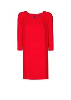 Pleated collar dress