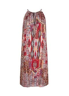 Ethnic print dress
