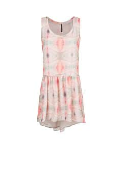 Digital print chiffon dress
