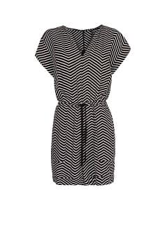Zigzag print jumpsuit
