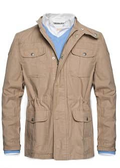 Manteau lger en coton