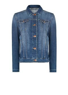 Veste denim usé