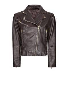 Blouson biker cuir