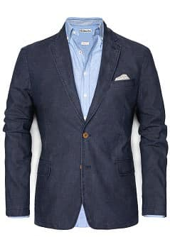 FLECKED COTTON BLAZER