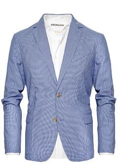TAILORED COTTON BLAZER