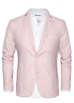 COTTON OXFORD BLAZER