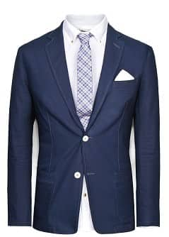 BAUMWOLL-OXFORDBLAZER