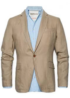 LINNEN BLAZER