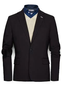 SCHMALER JERSEY-BLAZER