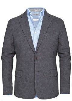 COTTON PIQU BLAZER