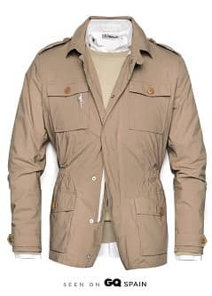 LIGHTWEIGHT SAFARI JACKET