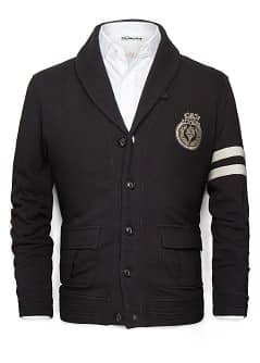 VESTE VARSITY COTON