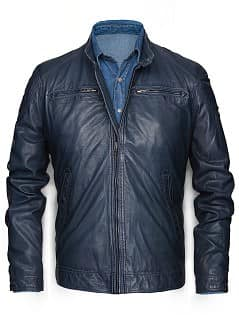BLOUSON CUIR
