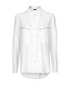 Zip pockets shirt