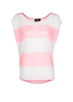 Neon striped t-shirt