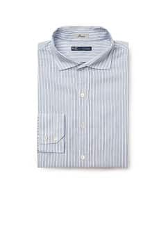 Camisa straight-fit riscas
