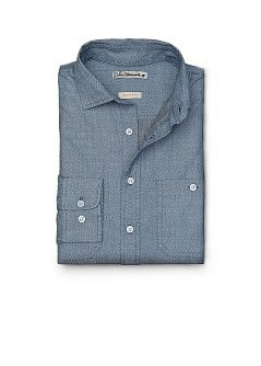 CAMICIA SLIM-FIT STAMPA STILE CRAVATTA