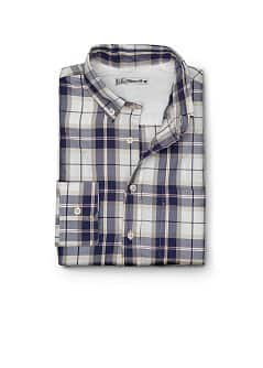 CAMISA SLIM-FIT QUADRADOS ESCOCESES