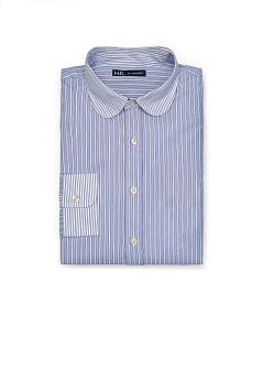 PREMIUM SLIM-FIT CONTRAST COLLAR SHIRT