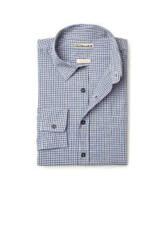 Chemise slim-fit coton carreaux