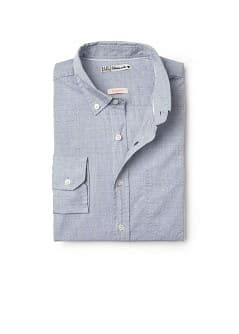 Chemise en coton slim-fit