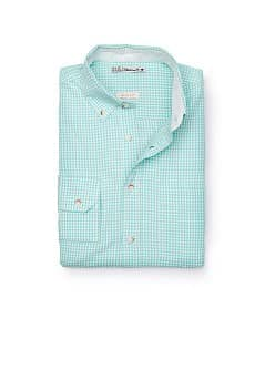 SLIM-FIT OVERHEMD GINGHAM RUIT