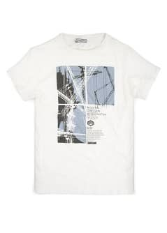 Typographic print t-shirt