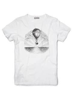 T-SHIRT FIGURA ESTAMPADA