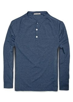 FLECKED HENLEY
