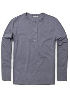 HENLEY-SHIRT AUS BAUMWOLLE