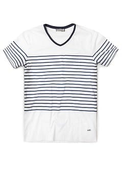 Pocket striped t-shirt