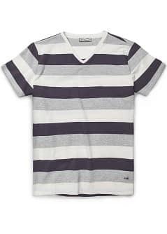 T-SHIRT COTON RAYURES