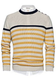 PULLOVER COTONE STILE MARINARO