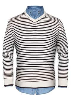 PULLOVER MAGLIA RIGHE