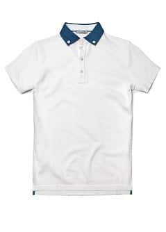 POLO PIQU COLL CONTRAST