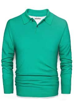 FINE-KNIT COTTON POLO