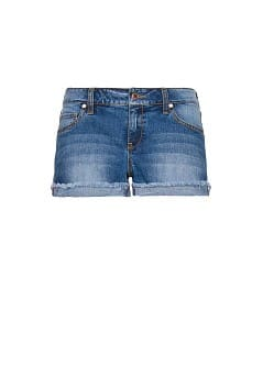 Short denim deshilachado