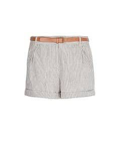 Short rayas lino y algodn