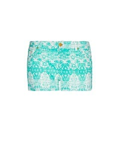 Short imprim en coton